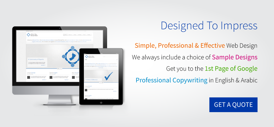 Web Design Company in Muscat, Oman